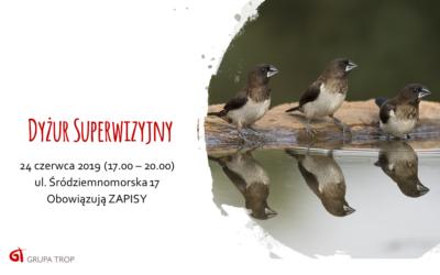 Dyżur superwizyjny – 24.06.2019, 17.00-20.00
