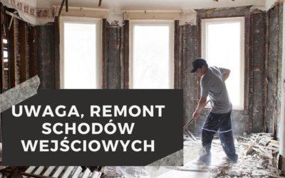 Uwaga Remont – 22-26.07.2019