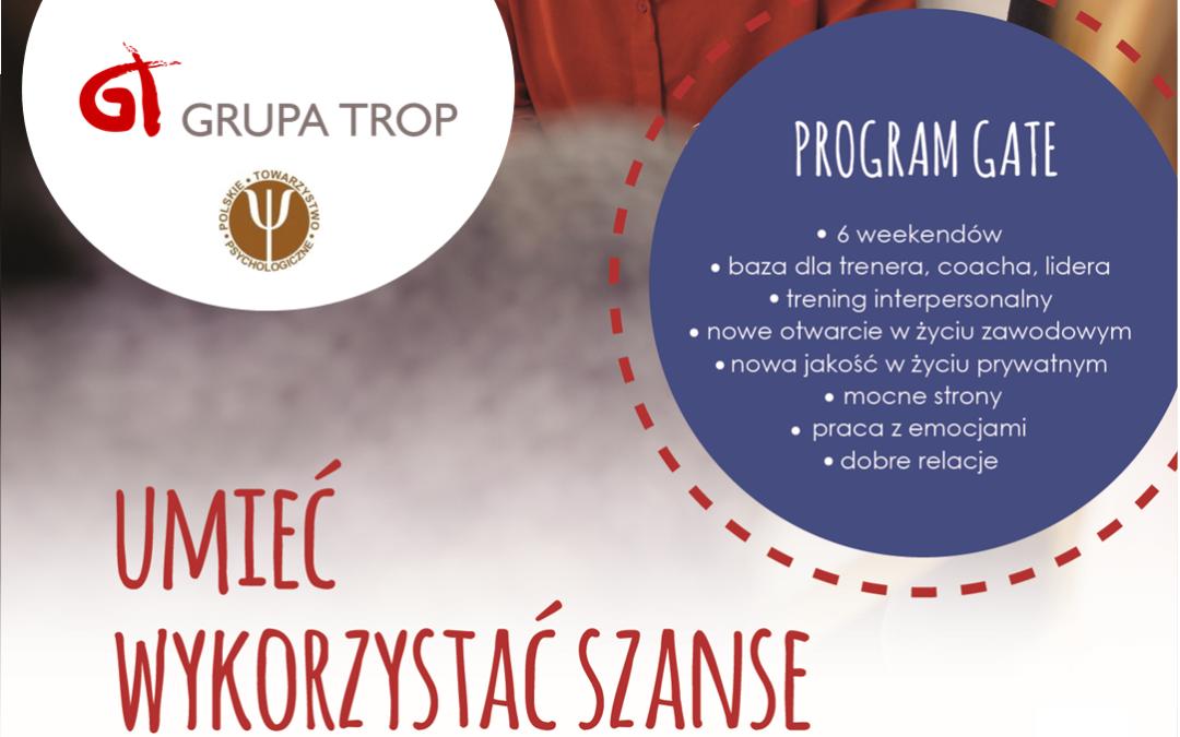 Program GATE – START 26.10.2019