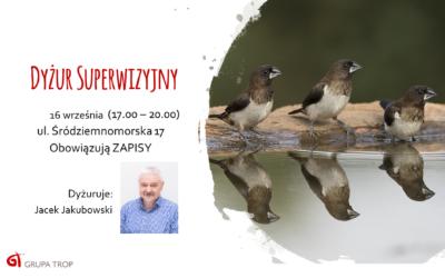 Dyżur superwizyjny – 16.09.2019, 17.00-20.00