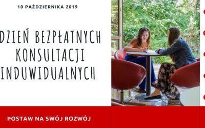 Dzień Bezpłatnych Konsultacji Indywidualnych – 10.10.2019