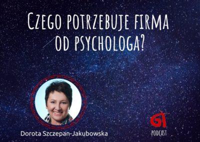 Czego potrzebuje firma od psychologa?