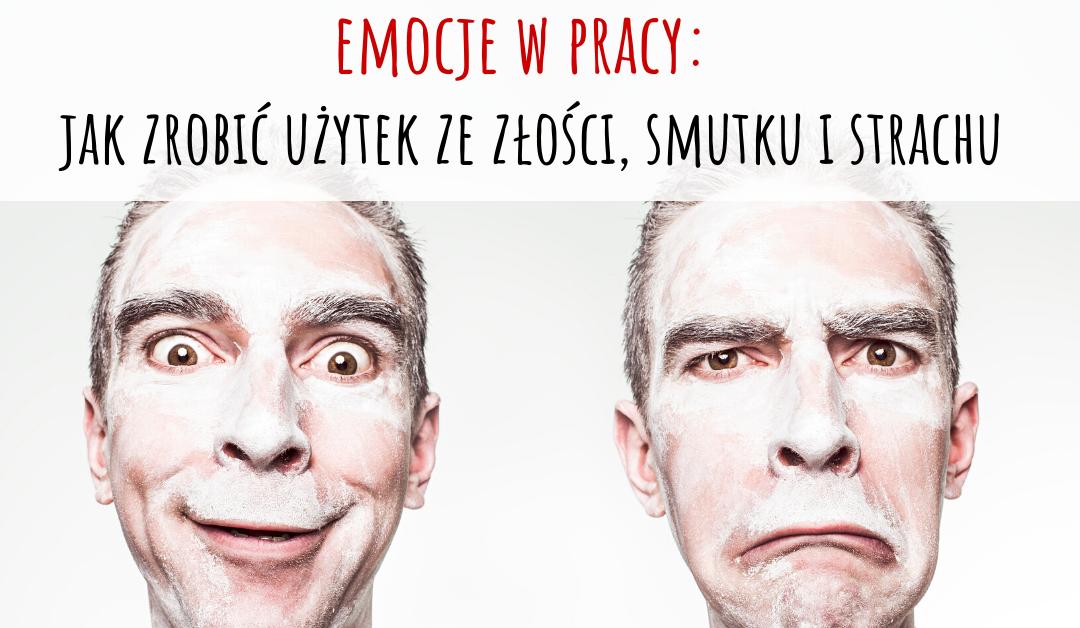 """Zapraszamy na bezpłatny webinar: """"Emocje w pracy: jak zrobić użytek ze złości, strachu i smutku"""""""