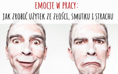 """Zapraszamy nabezpłatny webinar: """"Emocje wpracy: jak zrobić użytek zezłości, strachu ismutku"""""""