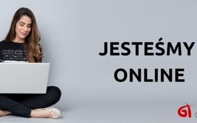 Jesteśmy dla Was online