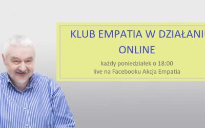 Klub Empatia w Działaniu działa online