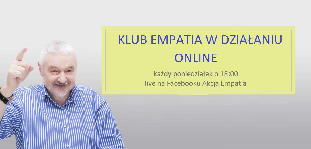 Klub Empatia wDziałaniu działa online