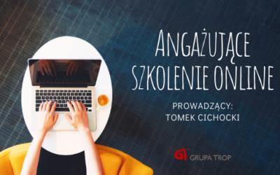 Angażujące szkolenie online – zaproszenie nawarsztat