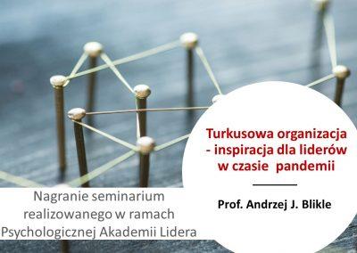 Turkusowa organizacja – inspiracja dla liderów wczasie pandemii