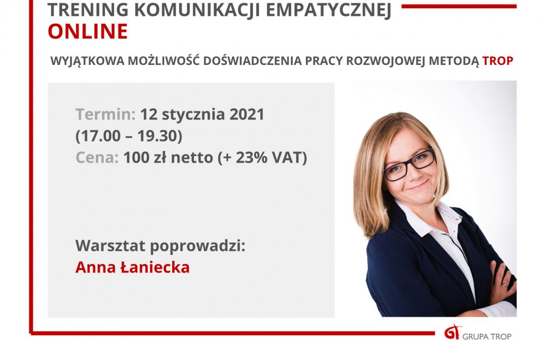 Trening Komunikacji Empatycznej Online – zaproszenie